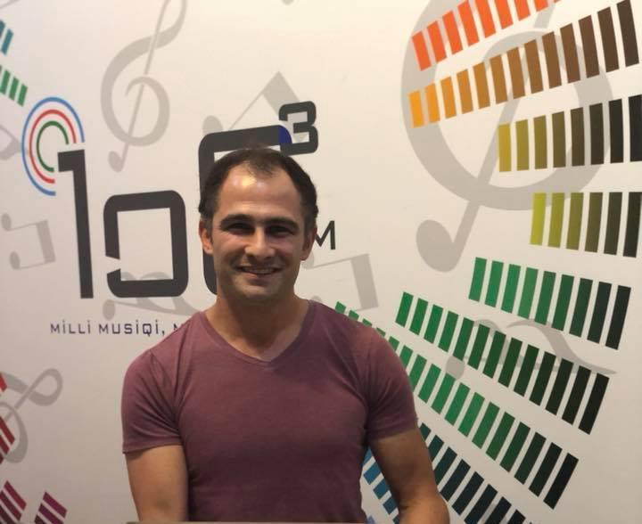 Raqif Raufoğlu - 106.3 FM - Azad Azərbaycan radiosu